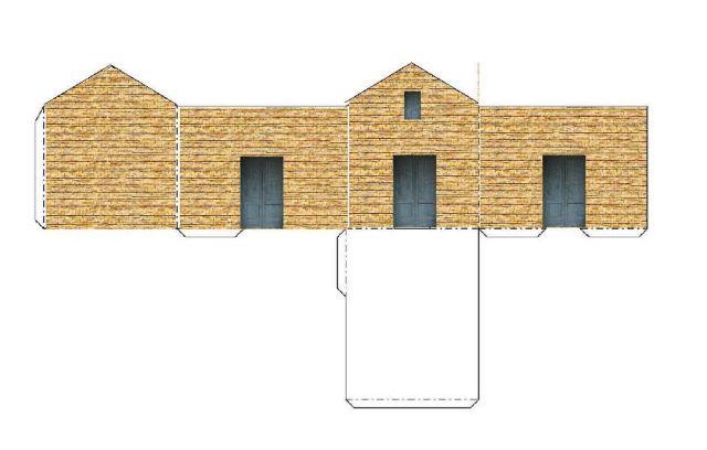 Leggi argomento come realizzare - Casette di cartone da costruire ...